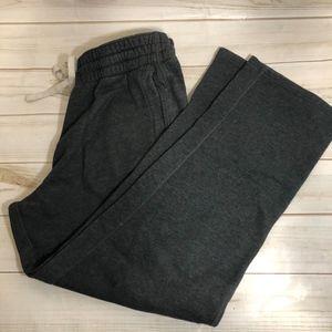 Old Navy Dark Grey sweatpants Large EUC